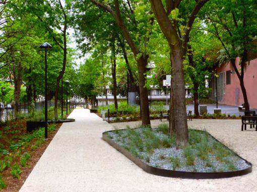 Le Pré Saint Gervais – Square Jean Moulin