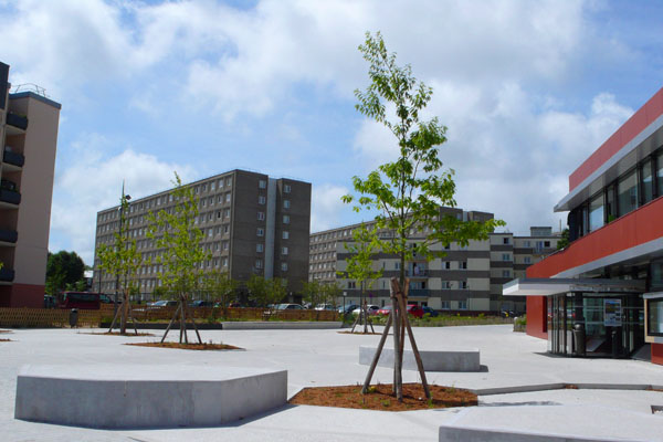 Dieppe – Quartier du Val Druel