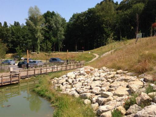 Montigny les Cormeilles – Entrée du Bois
